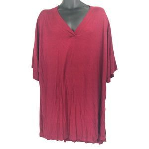 Go Couture T Shirt Dress Red XL